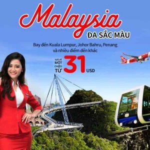 Săn vé rẻ bay Malaysia đúng mùa shopping MegaSale 2018