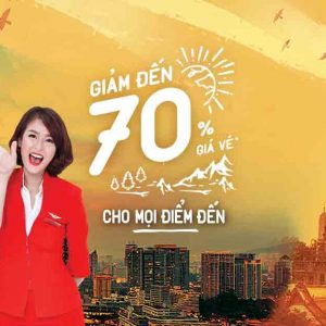 AirAsia Giảm Tới 70% Mọi Điểm Đến! Rẻ Quá!