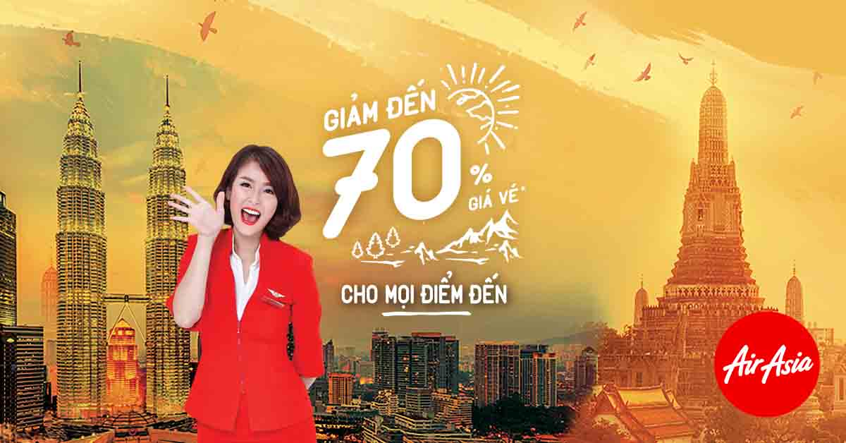 AirAsia Khuyen mai ve re