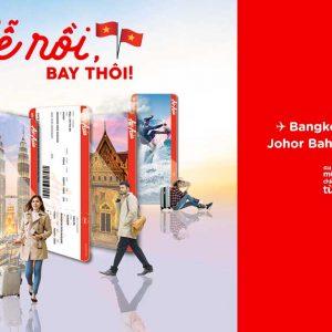 AirAsia Khuyến Mãi Đúng Dip Lễ - Tha Hồ Săn Vé