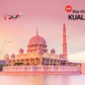 Phú Quốc bay thẳng Kuala Lumpur giá chỉ từ 40 USD
