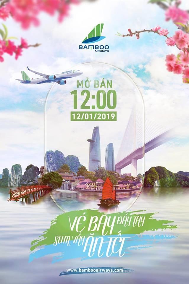 Bamboo Airways bán vé giá rẻ