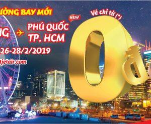 10.000 vé 0 đồng Vietjet bay đến Hong Kong