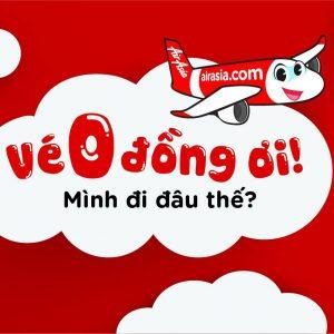 5 triệu vé rẻ từ 0 đồng của AirAsia, múc ngay đi!