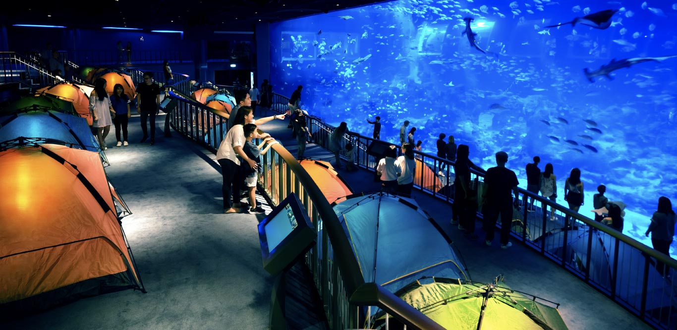 Thủy cung Singapore SEA Aquarium