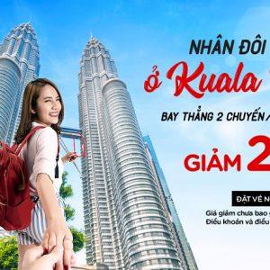 Đà Nẵng bay Kuala Lumpur 2 chuyến mỗi ngày, kèm mẹo du lịch hay ho