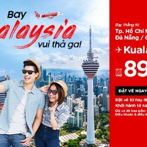 Bay thẳng Malaysia vui thả ga với giá chỉ từ 899k