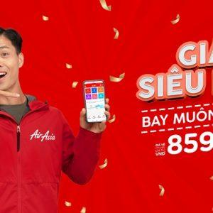 Giá siêu hời bay muôn nơi của AirAsia