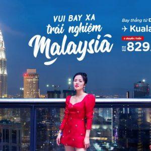Bay thẳng từ Đà Lạt tới Malaysia với 4 chuyến mỗi tuần