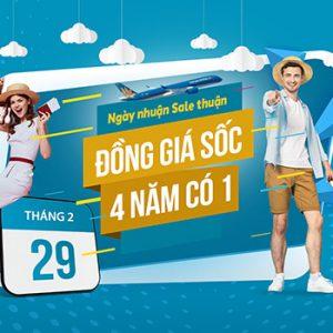 Đồng giá sốc, 4 năm có 1 lần của Vietnam Airlines